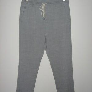 BERWICH Elastic Waist Cuffed Pant/Straight Leg